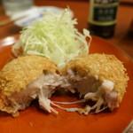 酒肆 一村 - 松茸と里芋のコロッケ