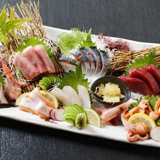 ○新鮮な魚をお客様へ○匠が厳選した絶品の鮮魚をお楽しみあれ