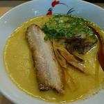 麺屋 丸鶏庵 - 「鶏白湯塩 750円」