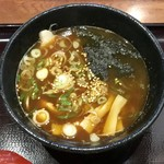 蔵乃麺 - 辛獄醤油大辛、プラス60円です。