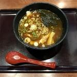 蔵乃麺 - 網走辛獄醤油ハーフ、750円です。