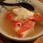 スタンドしんぽ - 料理写真:金目鯛のあら汁