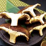 ごんぱち - 豊後大椎茸のあぶり焼き