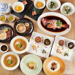 中華香彩JASMINE - 期間限定上海蟹コース「君子蘭」