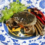 """中華香彩JASMINE - """"酔っ払い蟹"""" 陽澄湖産上海蟹の紹興酒漬け"""
