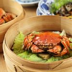 中華香彩JASMINE - 陽澄湖産上海蟹の姿蒸し