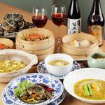 中華香彩JASMINE - 期間限定上海蟹メニュー