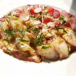 赤坂あじる亭 - 鮮魚のカルパッチョ
