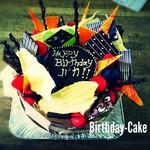 ラ・ディーク - 料理写真:ラディークのバースデーケーキ