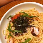 ジョリーパスタ - 明太子とイカ(大盛)¥690+料金