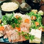 道頓堀つぼみ - 鰻鍋「うなべ」