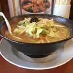 74919434 - 味噌野菜ラーメン637円