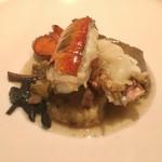 Cuisine Franco-japonaise Matsushima - オマール海老 きのこのスープ