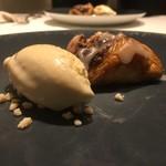 Cuisine Franco-japonaise Matsushima - 栗渋皮煮のパイ マロンアイス