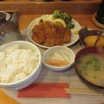 食事処 いのうえ - 料理写真:トンカツ定食2017.10.17