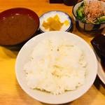 瀧元 - 一汁三菜の定食構成!