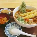 手打ち蕎麦 六坊 - 料理写真:天ぷら蕎麦