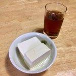 かしわや - こだわりのサービス豆腐
