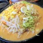 丸勝 - 野菜たっぷりみそラーメン