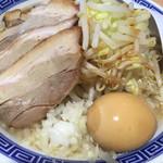 山岸一雄製麺所 - 角ふじチャーシュー麺
