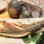 魚真 - かますの塩焼き 1,480円
