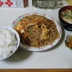上海亭 - 特製焼きビーフン定食@600(日替り定食価格)