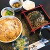 そば切り はつ穂 - 料理写真:かつ丼そばセット(1,200円)