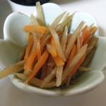 上海亭 - 特製焼きビーフン定食(小鉢)