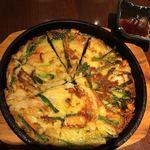 韓国料理 土火土火 - 海鮮チヂミ