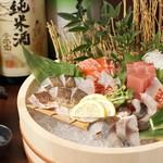 【鮮魚  お造り】