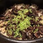 寺沢 - 料理写真:香茸の炊込みごはん