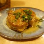 食楽酒家 朋 - 2017.10 鶏つくねレンコンはさみ揚げ