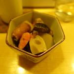 食楽酒家 朋 - 2017.10 洋風筑前煮(コンソメ風味)