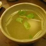 鳥ぎん - 鳥スープ