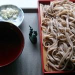松栄屋 - 料理写真:もりそば500円