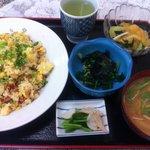 mitsuwa - 焼き豚卵チャーハンの定食