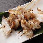 菜彩 - 【焼鳥】 肉付きヤゲン軟骨(たれ・塩) 250円