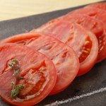 菜彩 - 冷やしトマト 550円