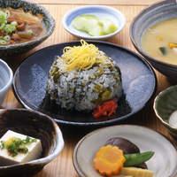 ひめ路 - 高菜めし定食 1,280円
