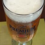 Le Cinque Kitahama - ビールはプレミアムモルツ☆★★☆(^_^)