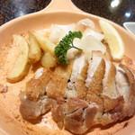 侍屋敷大松沢家 - 料理写真:パリッと焼き上げられています