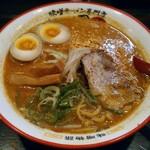 麺屋・國丸。 - 【北海道百年味噌味玉ラーメン】¥820