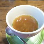 せいとう - 友人のセットのスープ