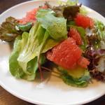 キッチン ステラ - サラダ(*´∀`)