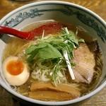 麺や 六三六 - 【にぼし塩そば】¥720