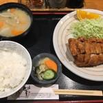 74935319 - ヒレカツ定食(1500円)