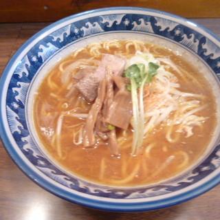 岩鷲 - 料理写真:煮干し味噌ラーメン