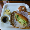 ラパンの麦 - 料理写真:信長カツサンド