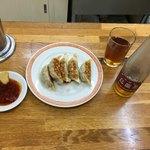 亀戸餃子 - 餃子とウーロン茶