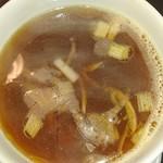 カネキッチン ヌードル - スープ割り